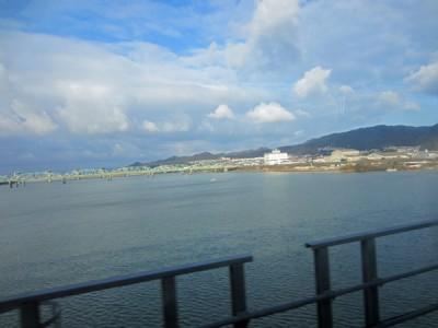 帰りの紀ノ川
