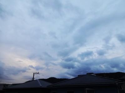 ちょっと雨降りの夕方