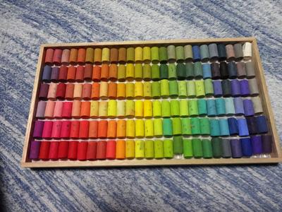 150色のゴンドラソフトパステル