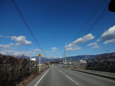 いいお天気でした。