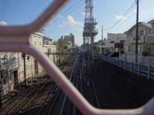 東横線の線路